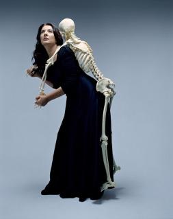 """Marina Abramović, """"Carrying the Skeleton"""""""
