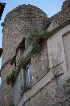 Torre del castello, Gioiosa Ionica, Aprile 2015. © Claudia Stritof.